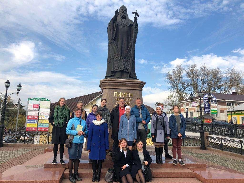 Поездка молодежи в Богоявленский собор г. Ногинска