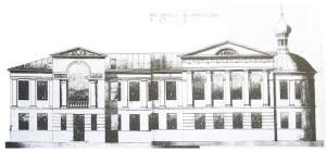 Проект школы в Филимонове, 1913 г.